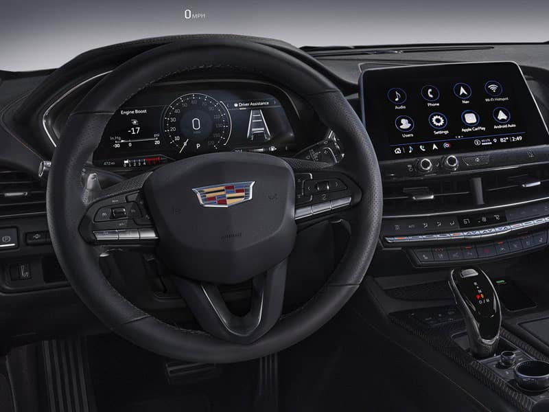 New 2021 Cadillac CT5 interior technology and convenience