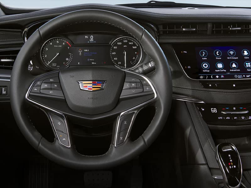 New 2021 Cadillac XT5 interior technology and comfort
