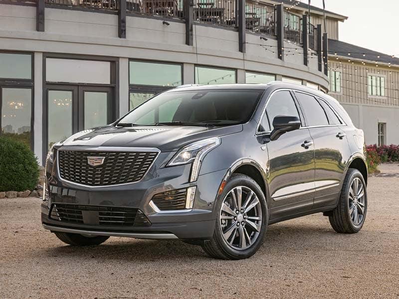 New 2021 Cadillac XT5 three available models