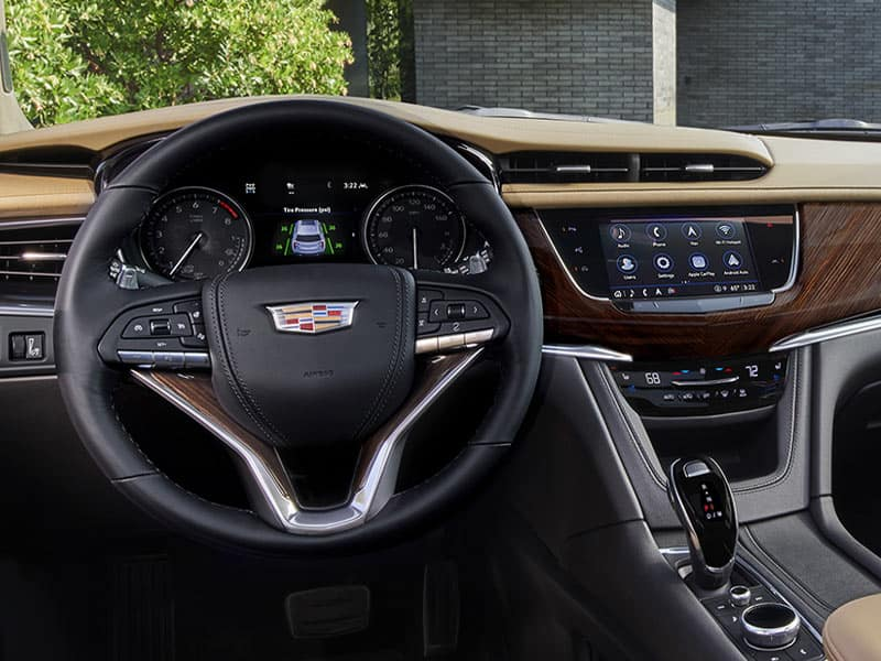 New 2021 Cadillac XT6 driver convenience and technology
