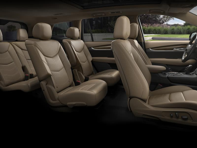 New 2021 Cadillac XT6 interior comfort and features
