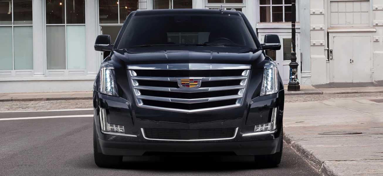 2020 Cadillac Escalade front grille view