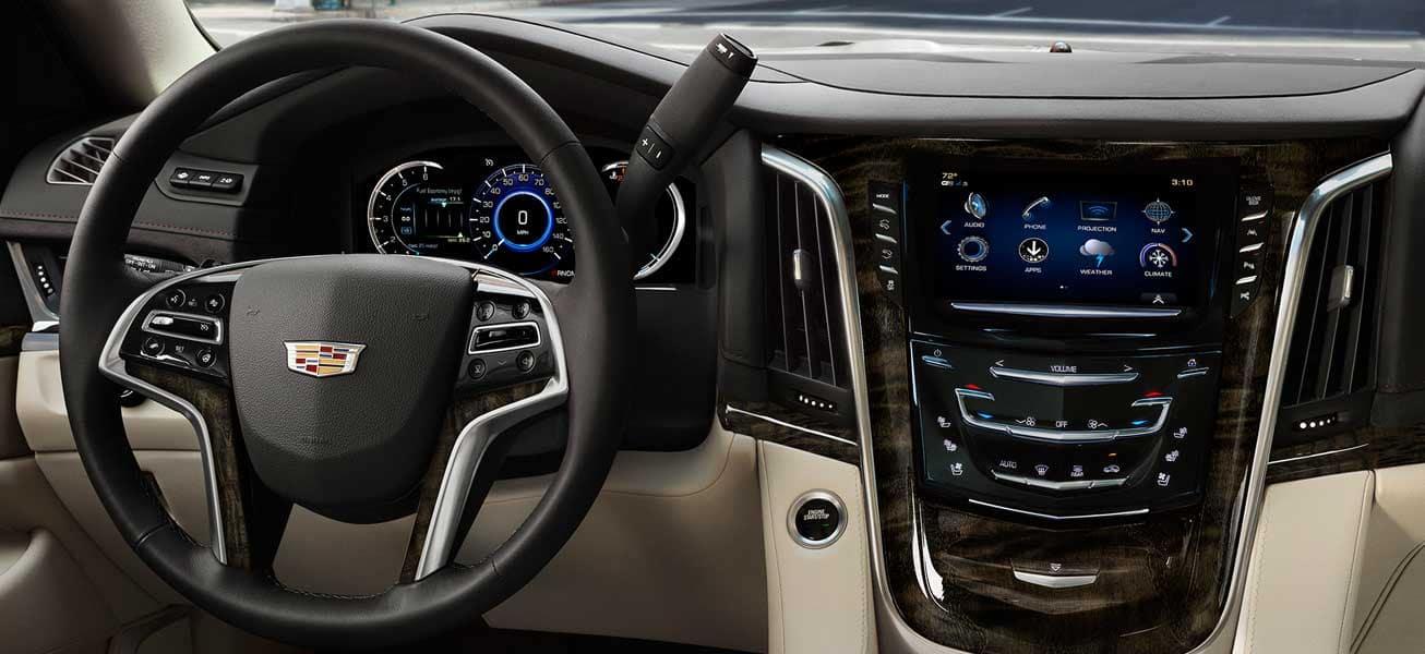 2020 Cadillac Escalade interior cockpit view