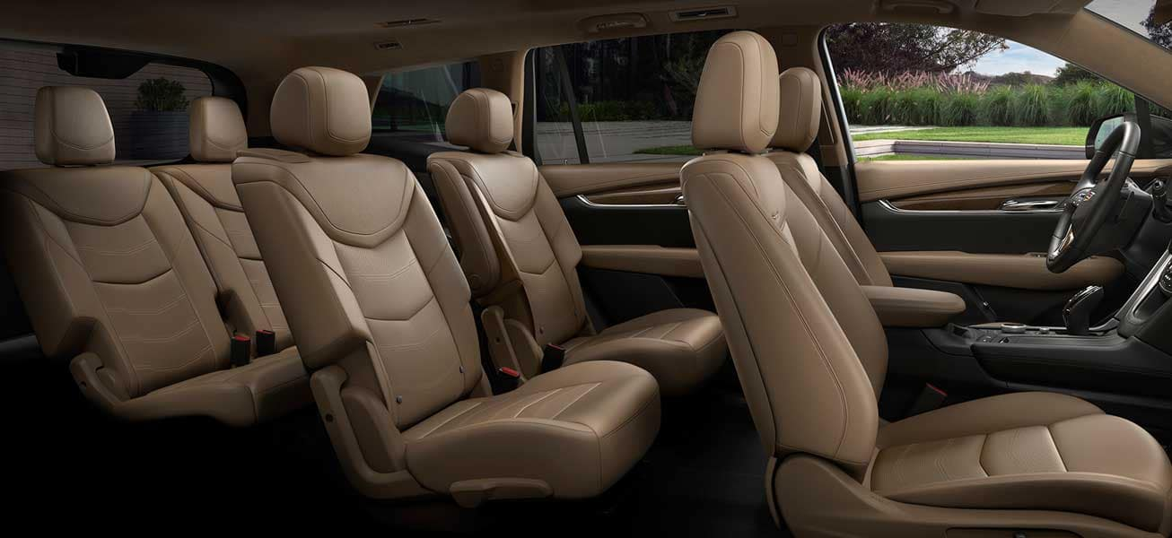 2020 Cadillac XT6 seating for 8