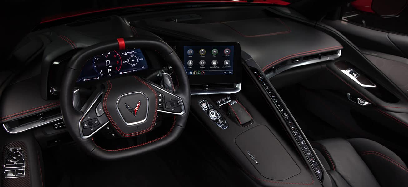 2020 Chevrolet Corvette Stingray C8 Interior