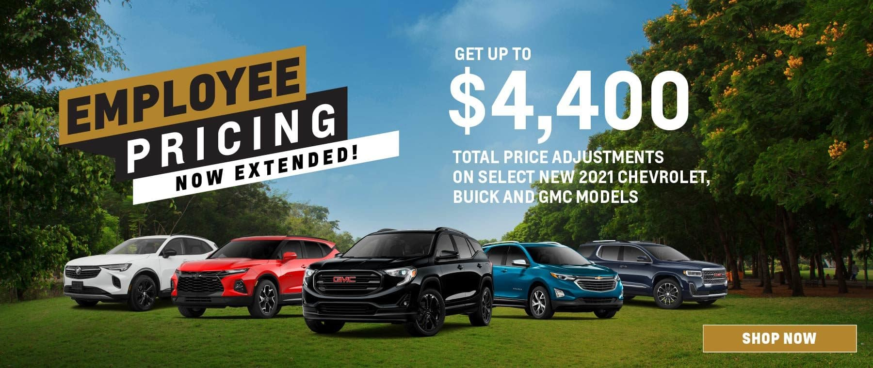 Employee Pricing Now Extended – Roy Foss Thornhill – Dealerinspire Banner 1800×760