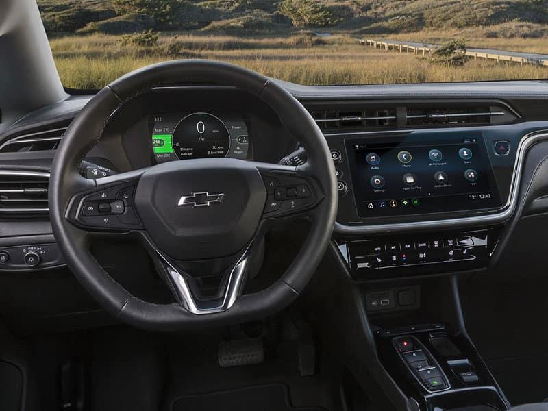 2022 Chevrolet Bolt EV driver technology and convenience