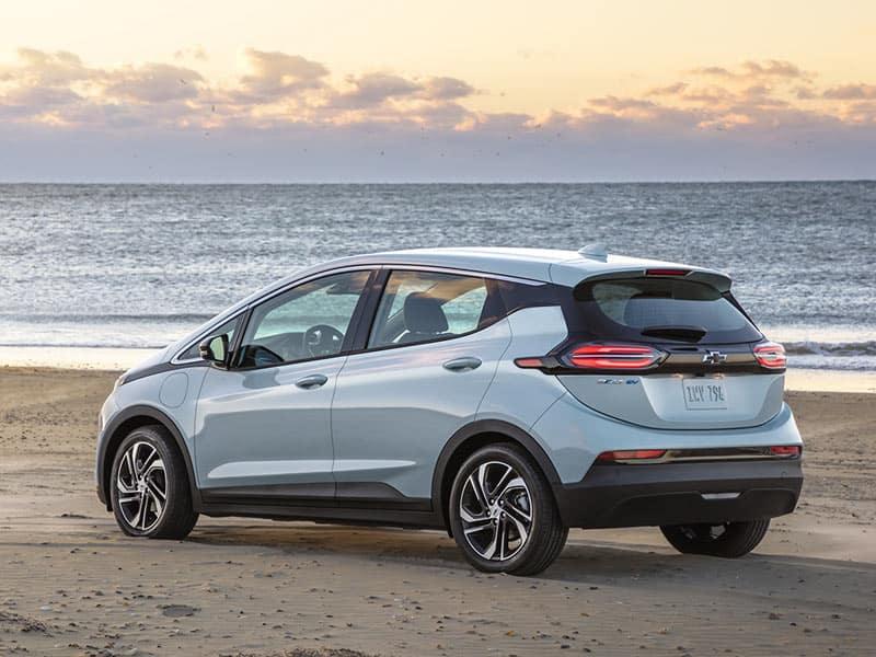 2022 Chevrolet Bolt EV single trim level