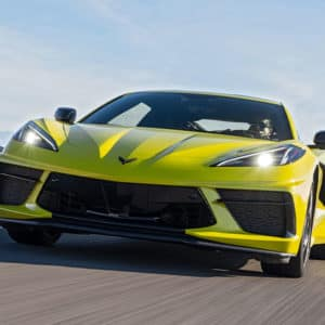 2022 Chevrolet Corvette in jaw-dropping Accelerate Yellow Metallic