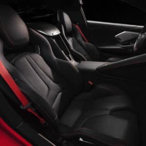 2022 Chevrolet Corvette interior comfort and seating