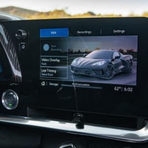 2022 Chevrolet Corvette interior convenience and technology