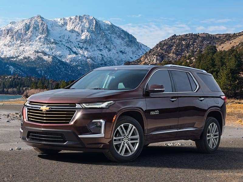 2022 Chevrolet Traverse model overview