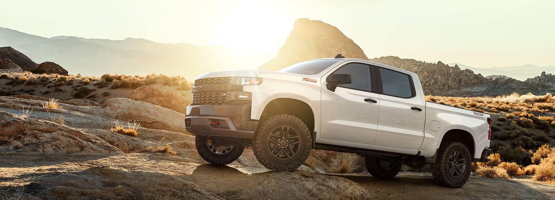 2019 White Chevrolet Truck