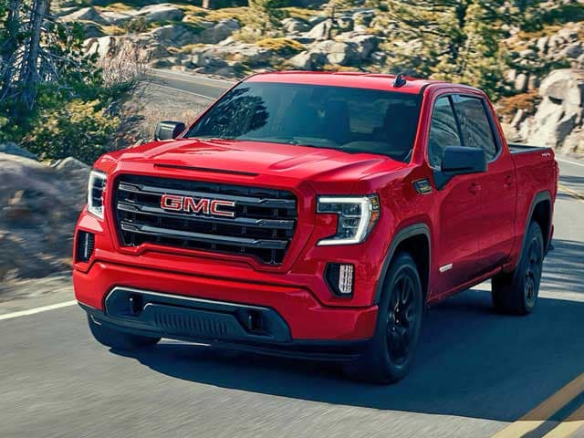 Red 2020 GMC Sierra