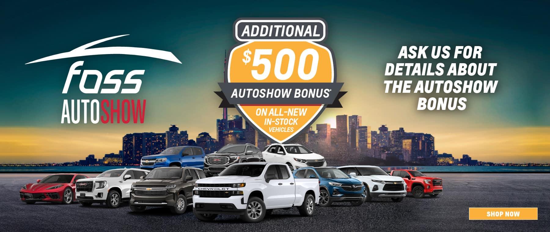 Thornhill – Foss Auto Show Bonus – Dealerinspire Banner 1800×760