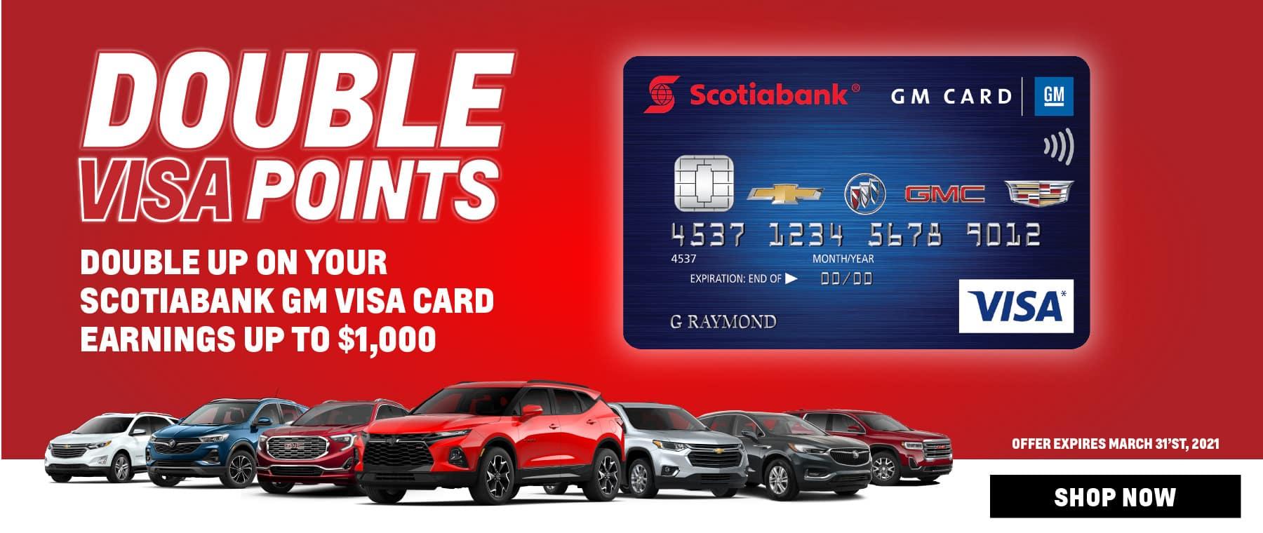 Woodbridge – Double Visa Points – CBG – Dealerinspire Banner 1800×760