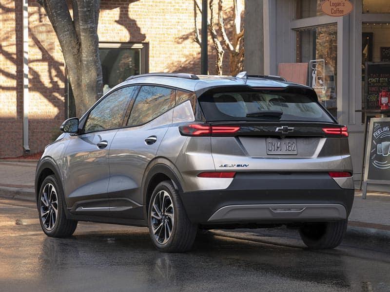 2022 Chevrolet Bolt EUV models and trim levels