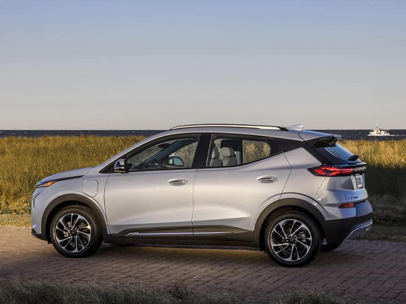 2022 Chevrolet Bolt EUV modern style and design