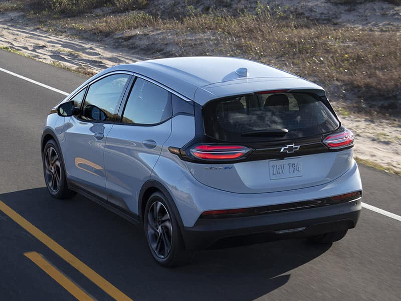 2022 Chevrolet Bolt EV powertrain and performance
