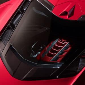 2022 Chevrolet Corvette Coupe engine bay