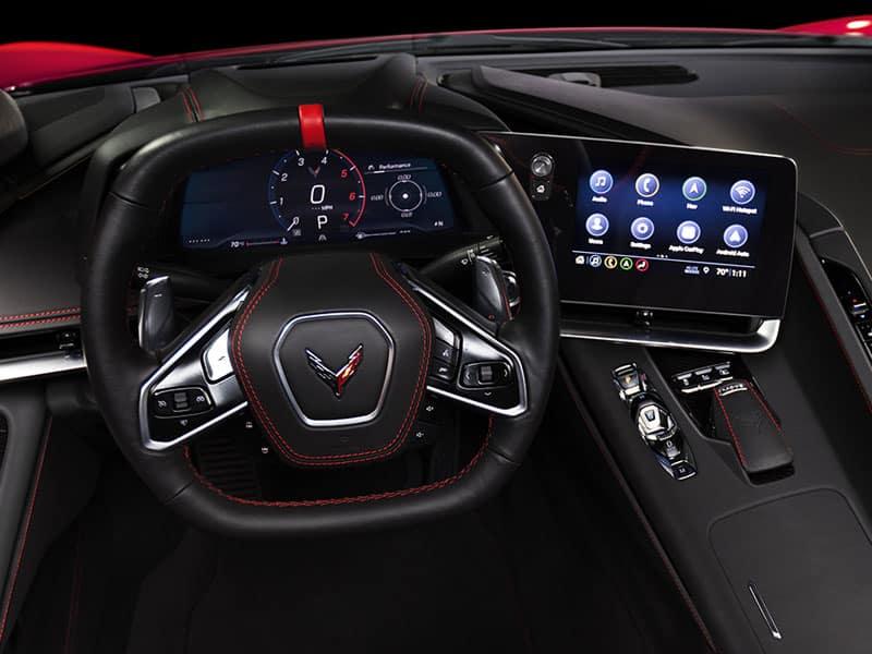 2022 Chevrolet Corvette Stingray C8 interior technology