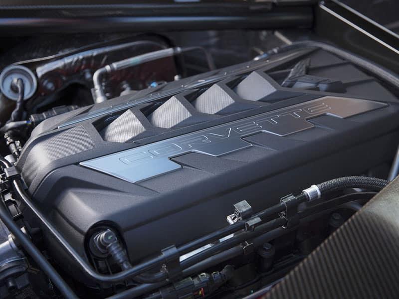 2022 Chevrolet Corvette Stingray C8 powertrain and performance