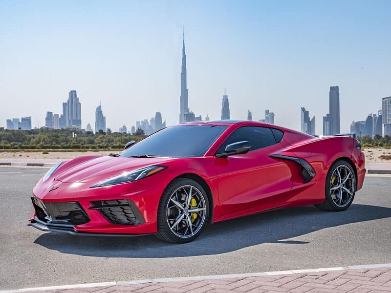 2022 Chevrolet Corvette Stingray C8 stunning exterior design