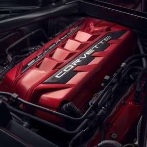 2022 Chevrolet Corvette Stingray Coupe with Engine Enhancement Package