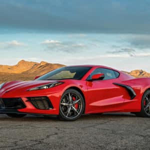 2022 Chevrolet Corvette Stingray in Torch Red