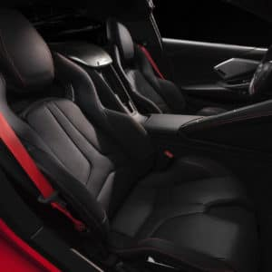 2022 Chevrolet Corvette interior comfort