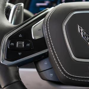 2022 Chevrolet Corvette steering wheel