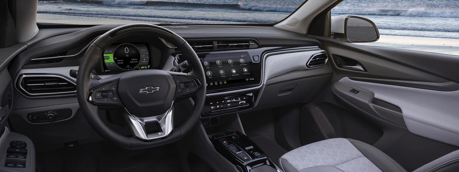 Lease or finance new 2022 Chevrolet Bolt EUV in Woodbridge Ontario