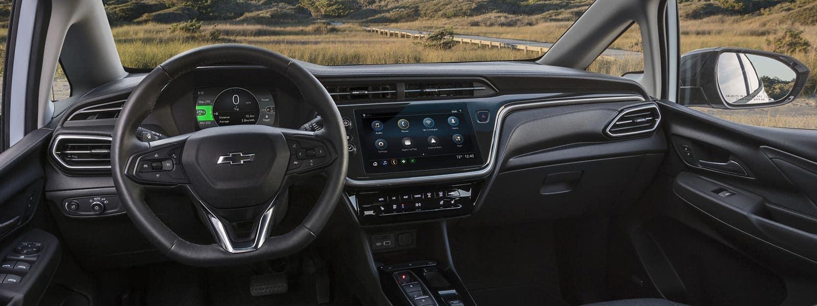 Lease or finance new 2022 Chevrolet Bolt EV in Woodbridge Ontario