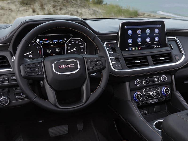 2022 GMC Yukon interior comfort and technology