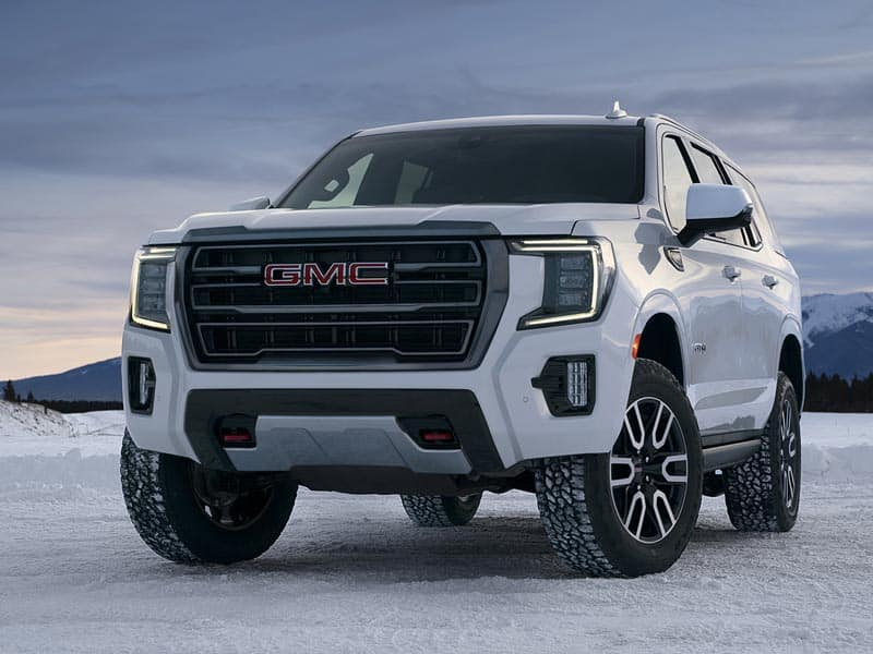 2022 GMC Yukon models and trim levels