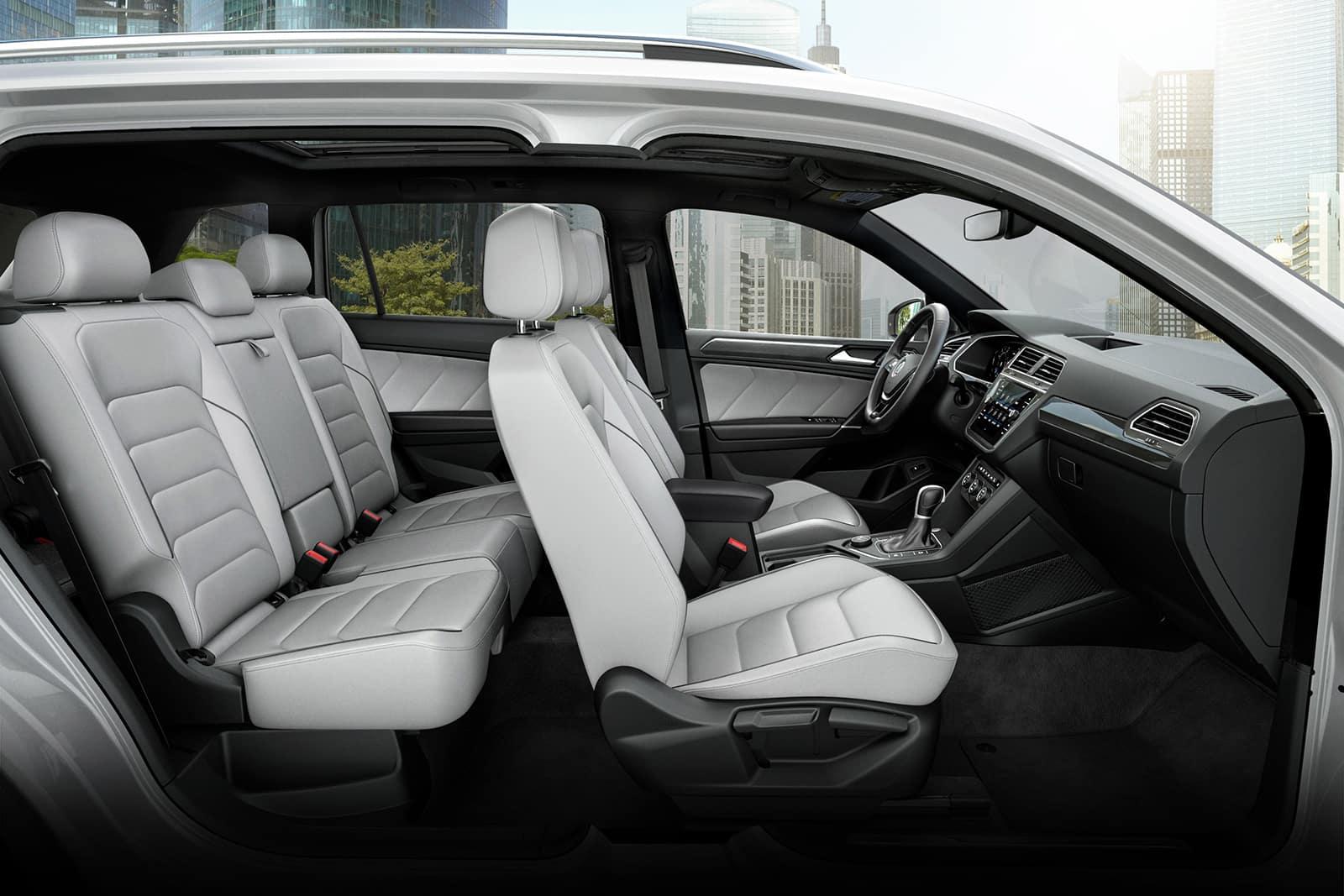2020 Tiguan interior available in Fredericksburg VA