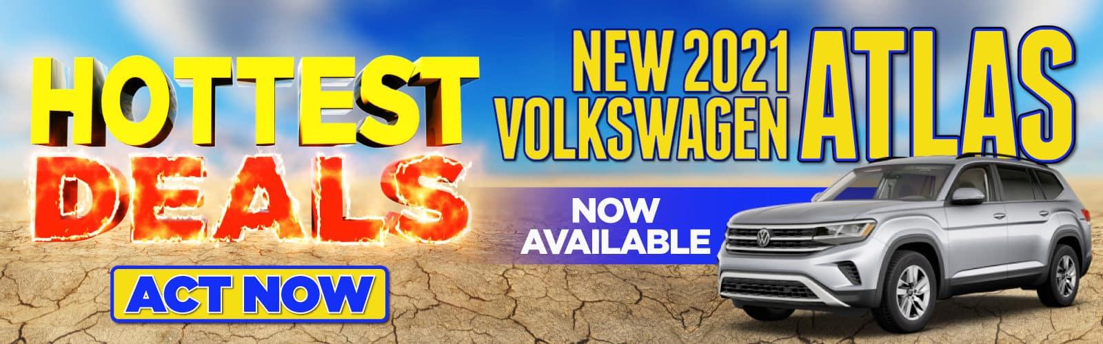 New 2021 VW Atlas Now In Stock - Act Now