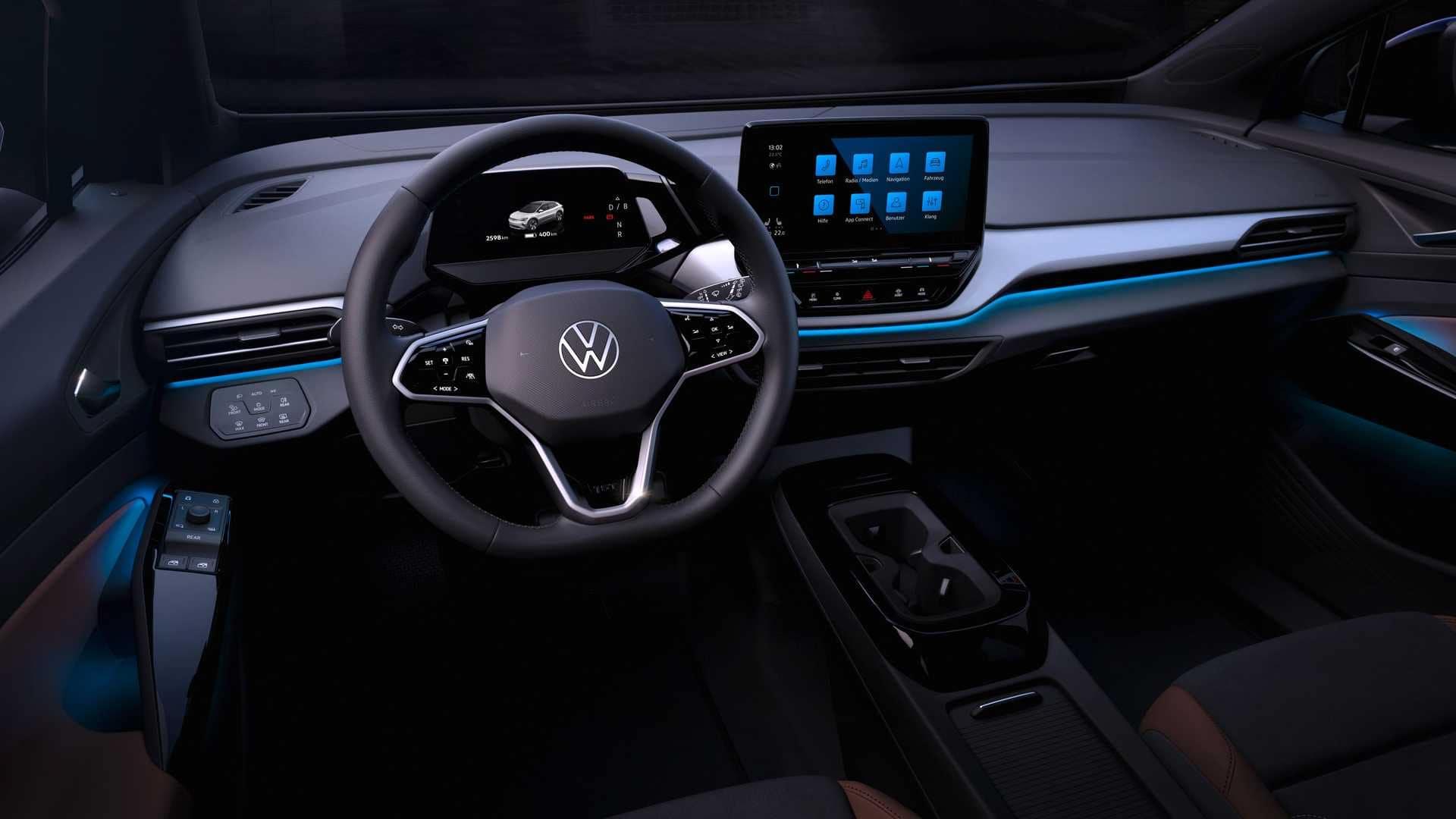 2021 VW ID.4 interior Fredericksburg, VA