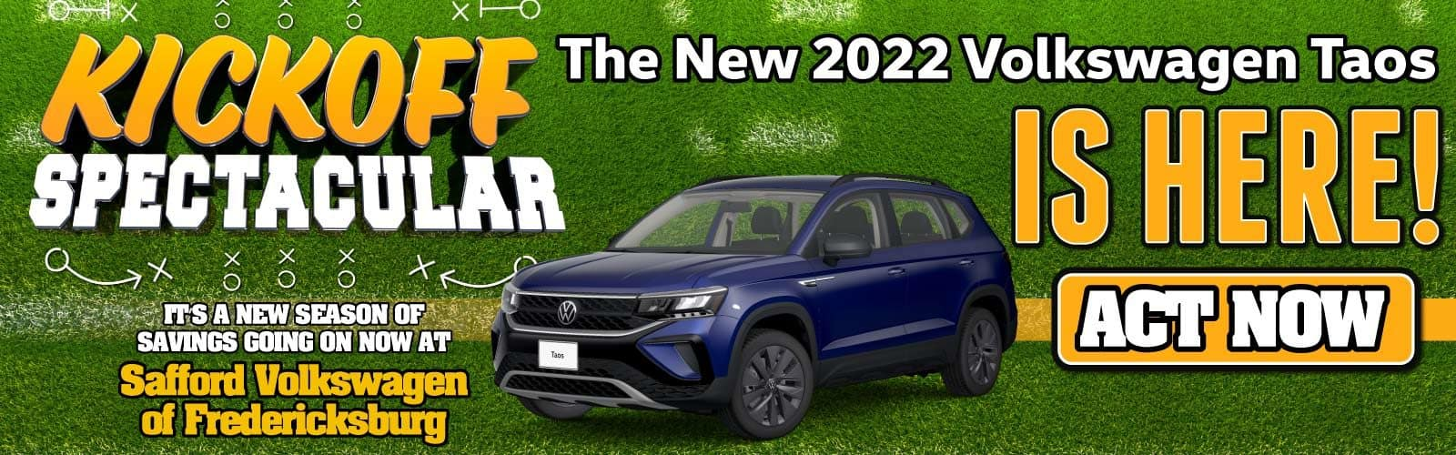 The New 2022 Volkswagen Taos is HERE!