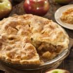 Homemade Apple Pie Dessert Ready to Eat
