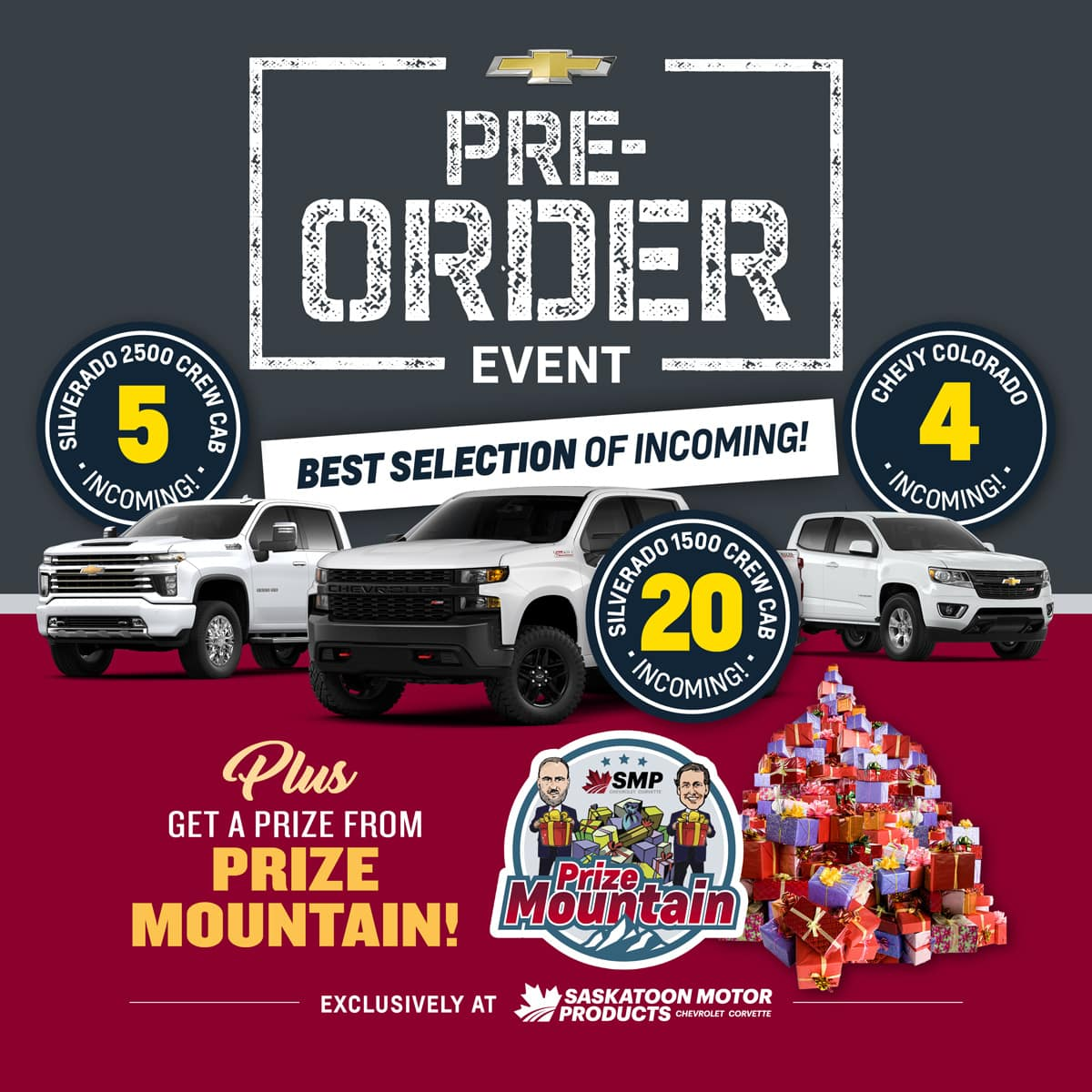 The Pre-Order & Save Event