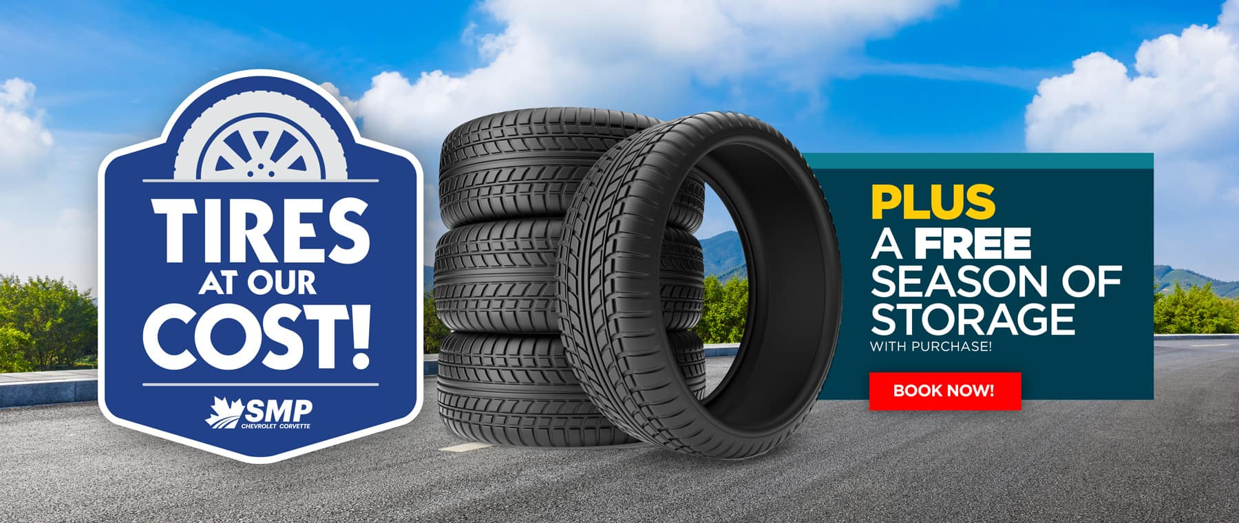 Tires at Cost Banner