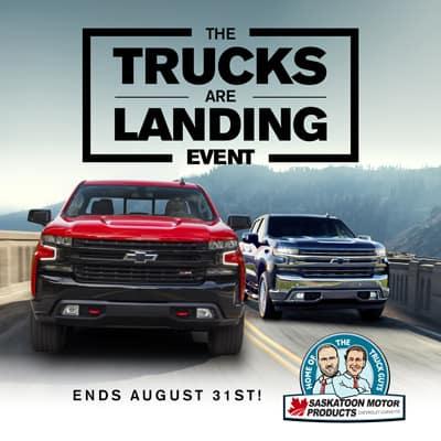Trucks Are Landing
