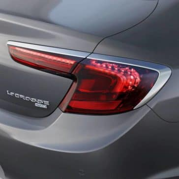 2019 Buick LaCrosse Taillight