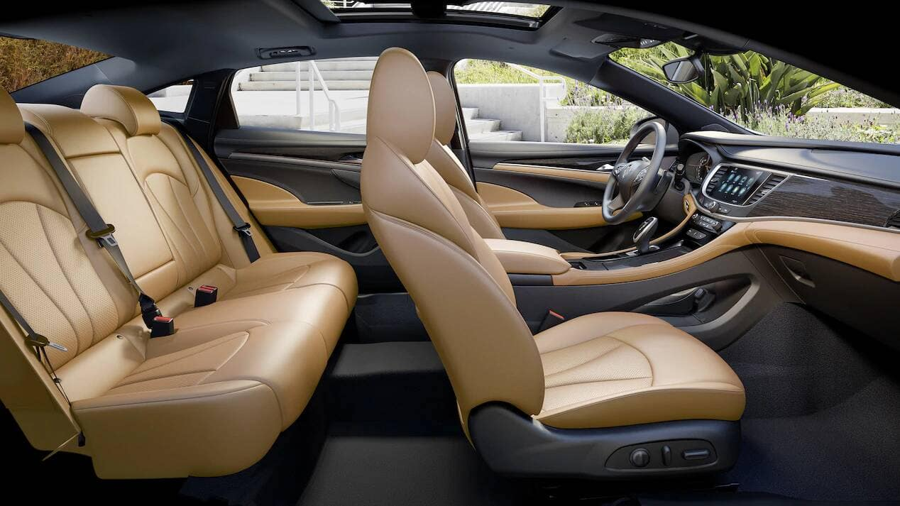 2019 Buick LaCrosse Seating