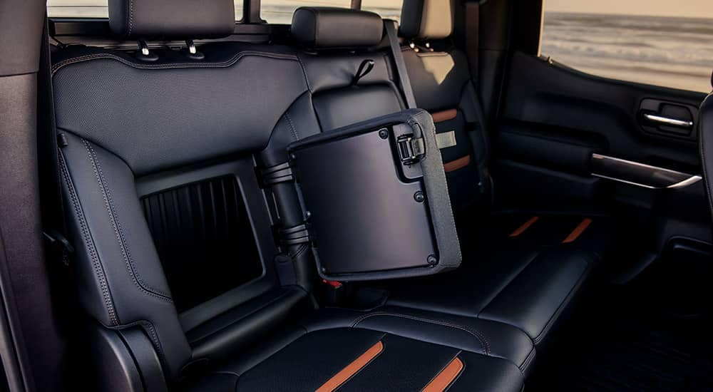 2019-GMC-Sierra-1500-AT4-Rear-Seat-Storage