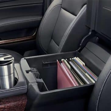 2019 GMC Yukon Storage