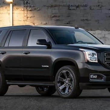 2019 GMC Yukon at Night
