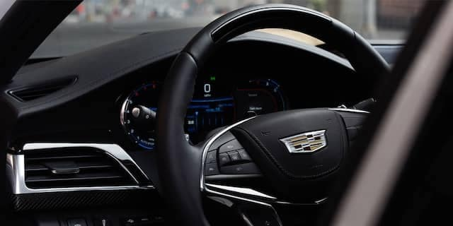2020 Cadillac CT6 Steering Wheel