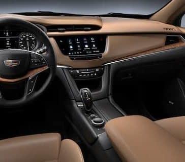 2020 Cadillac XT5 Dash
